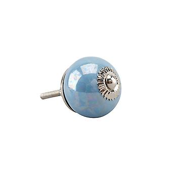 CGB Giftware Blue Pearlescent Drawer Handle