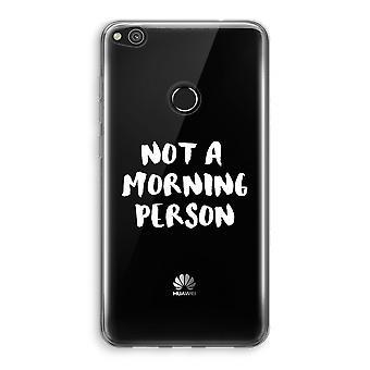 Huawei Ascend P8 Lite (2017) Transparant fall (Soft) - morgon person