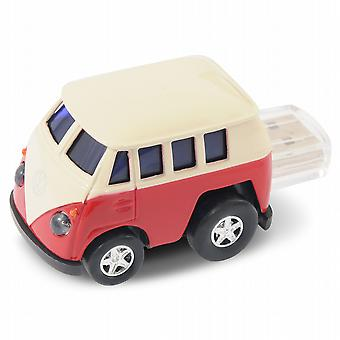 Official VW Camper Van Q-Series Bus USB Memory Stick 8Gb - Red