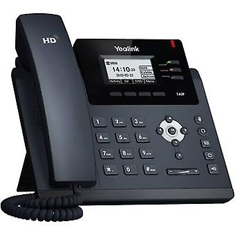 Yealink SIP-T40P Corded VoIP Headset connection, Hands-free Colour TFT/LCD Black