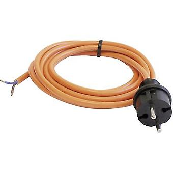 as - Schwabe 70917 Current Cable Orange 5.00 m