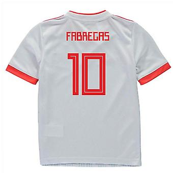 2018-2019 España Away Adidas Mini Kit (Fabregas 10)