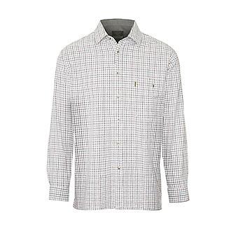 """Champion Męski Ayr Country Style Koszula z długim rękawem-Zielony-3XL-Max 59"""", 150cm"""