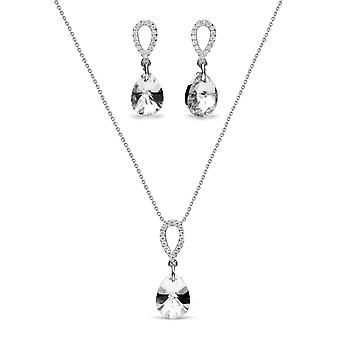Jewelry Set Pear Drop