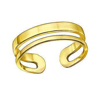 Open - 925 Sterling Silver Plain Rings - W30367x