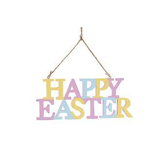 Glad påsk hängande plack