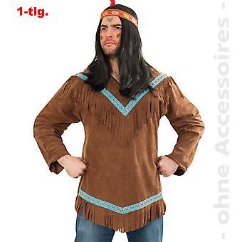 Indiske kostume Herre indisk mand Apache Winnetou Herre kostume