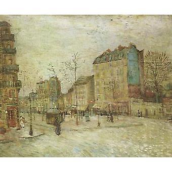 Boulevard de Clichy, Vincent Van Gogh, 45,5 x55cm