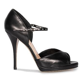 Valentino amore Latch Peep Toe pompe di Mary Jane