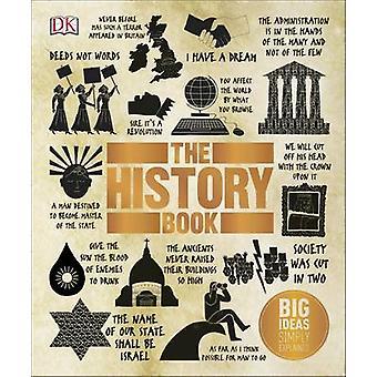 O livro de história de DK - 9780241225929 livro
