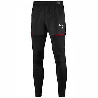 2018-2019年アーセナル プーマ プロ トレーニング パンツ (ブラック) のポケット付き