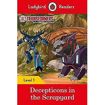 Transformers: Decepticons dans le parc à ferrailles - coccinelle lecteurs niveau 1
