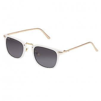 Simplify Theyer Polarized Sunglasses - White/Black