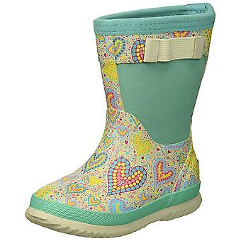Kids Northside Girls Neo Knee High Pull On Rain Boots