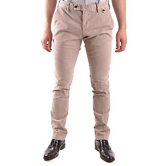 At.p.co Ezbc043030 Men's Beige Cotton Pants