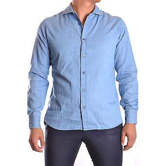 Altea Ezbc048011 Men's Blue Cotton Shirt