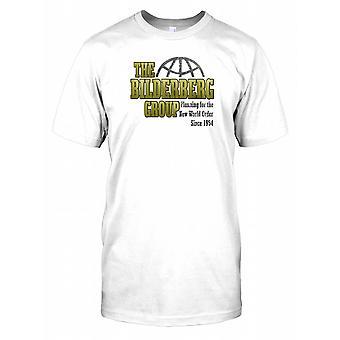 Bilderberg-gruppen - planlegging for verdensorden siden 1954 Kids T skjorte