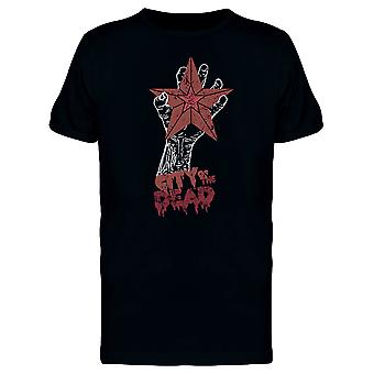 City Of The Dead Zombie Hand Tee Men's -Image by Shutterstock