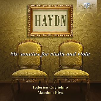 J. Haydn - Haydn: Six Sonatas for Violin and Viola [CD] USA import