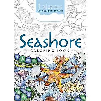 Bliss Seashore Coloring Book - Your Passport to Calm by Jessica Mazurk