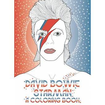 David Bowie - Starman - A Colouring Book - 9780859655507 Book