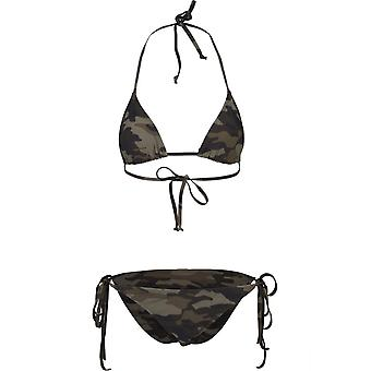Urban Classics naisten bikinit asettaa Camo