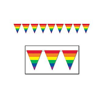 Rainbow wimpel banner