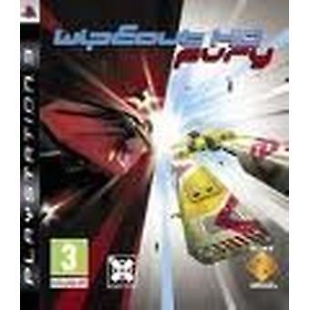 Wipeout HD Fury Game PS3-fabriek verzegeld