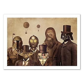 Kunst-poster-Victorian Wars-Terry fan 70 x 100 cm