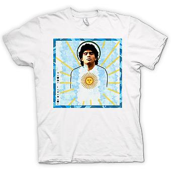 Mens T-shirt - Maradonna Argentina - Football