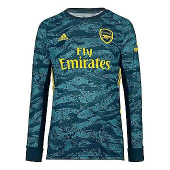 2019-2020 Arsenal Adidas hem mål vakt skjorta (Kids)