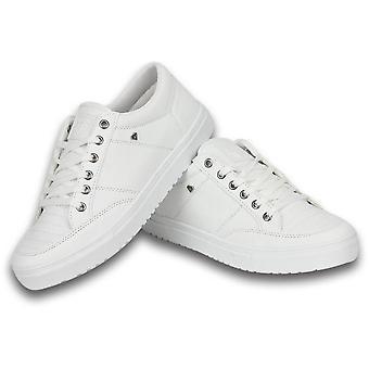 Shoes -Stunner Full White - White