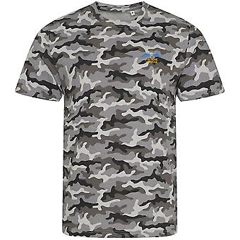 7 Battalion REME Veteran - Licensed British Army Embroidered Camouflage Print T-Shirt