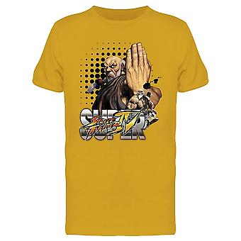 Super Street Fighter 4 Gouken tee Men ' s-Capcom designs
