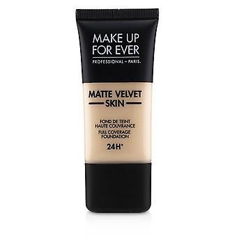 Make Up For Ever Matte Velvet Skin Full Coverage Foundation - # R210 (pink Alabaster) - 30ml/1oz