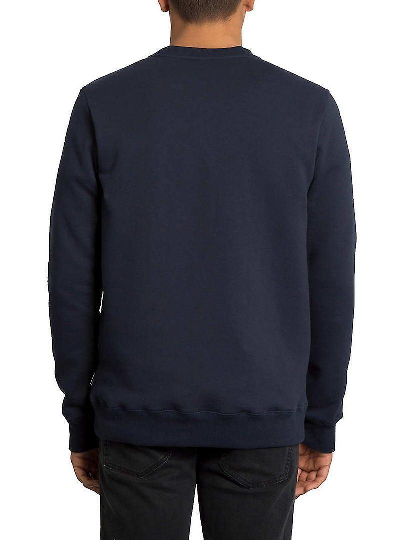 Volcom Men's Crew Neck Sweater ~ Single Stone navy