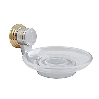 Delta 69755-PCBB Bathroom Soap Dish Accessory Polished Chrome / Brass