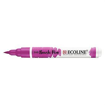 Talens Ecoline Liquid Watercolour Brush Pen - 545 Red Violet