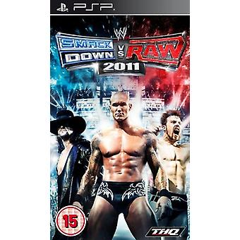 WWE Smackdown vs RAW 2011 (PSP)-fabriek verzegeld