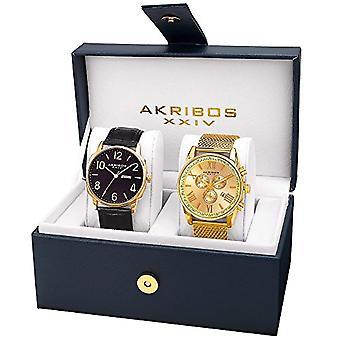 Akribos XXIV Clock Man Ref. AK885YG