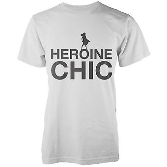 Heroine Chic T-Shirt - White