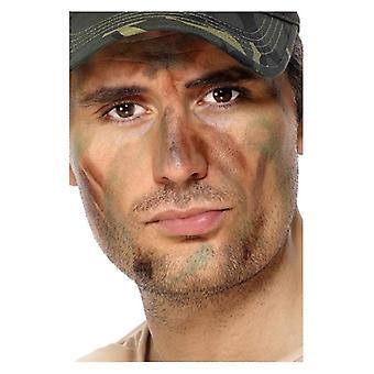 Esercito di make-up, Camouflage, con applicatore costume accessorio
