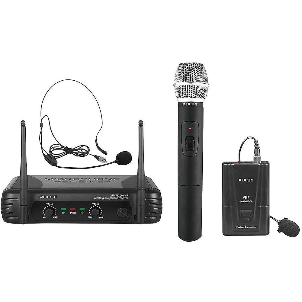 Pulse Pwm200vhf-hh/bp Vhf Dual Wireless System