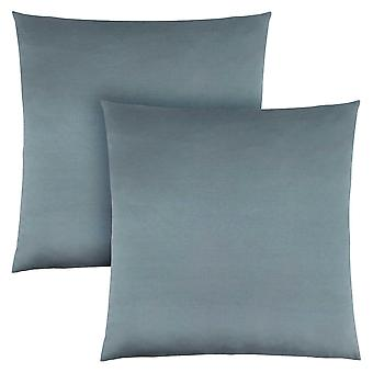 "18"" x 18"" Pale Blue, Satin - Pillow 2pcs"