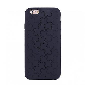 Silicone Motif Black Puzzle IPhone 6 4.7