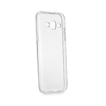 Casco para Samsung Galaxy J3 (2016) transparente e flexível