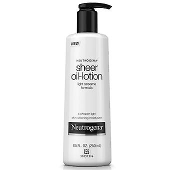 Neutrogena sheer oil-lotion, light sesame formula, 8.5 oz