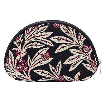 Golden fern big cosmetic bag by signare tapestry / bgcos-gfern