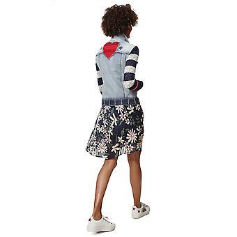 Desigual Women's Sailor Lover Nautical Denim Jacket