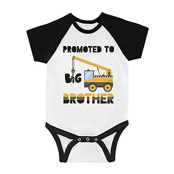 Promowane do Big Brother Niemowląt Baseball Shirt Baby Announment Tee